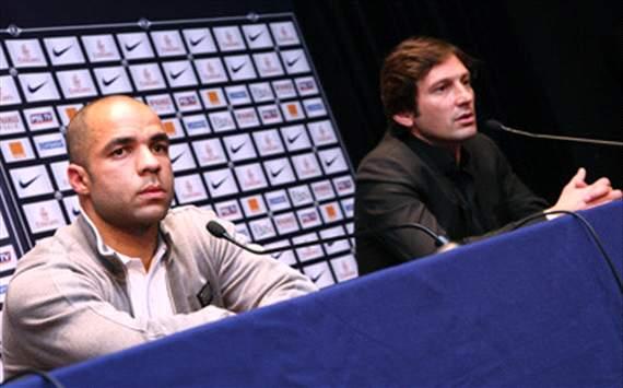 Alex et Leonardo (PSG)