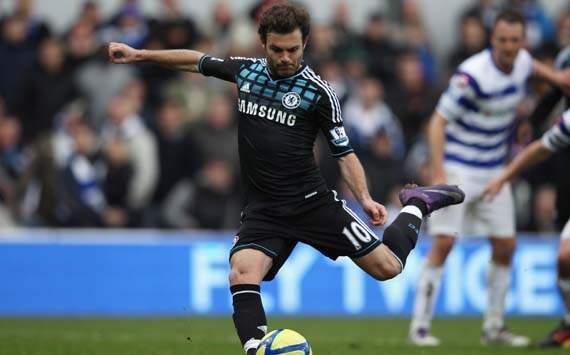 FA Cup, Juan Mata, Queens Park Rangers Vs Chelsea
