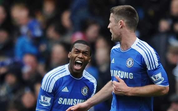 FA Cup - Chelsea v Birmingham City, Daniel Sturridge and Gary Cahill