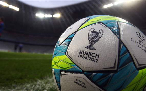 Champions League final Football, 2012
