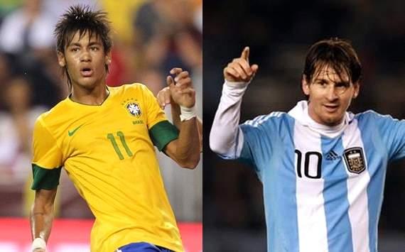 Neymar, Lionel Messi - Brazil x Argentina Mix