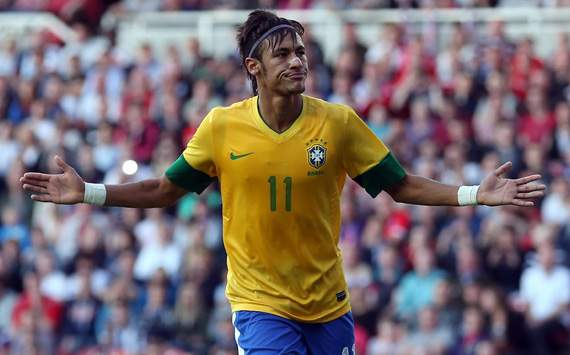 International Friendly - Team GB v Brazil, Neymar