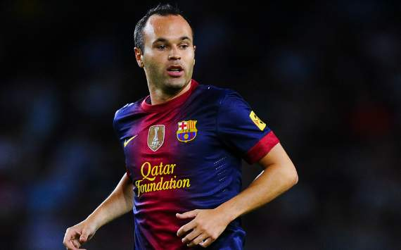 Andres Iniesta, FC Barcelona (Getty)