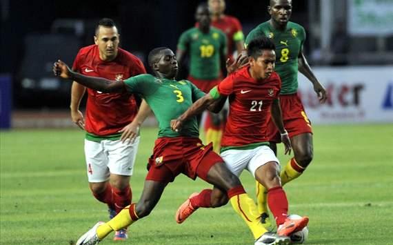 Indonesia vs Cameroon (GOAL.com/Antara)