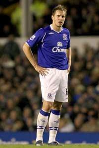 EPL: Phil Jagielka, Everton v Aston Villa  (PA)