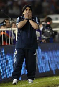 Diego Maradona - Argentina-Peru