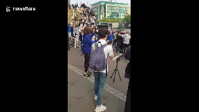 Sports › nufc memes & gifs. Newcastle United fans chant and cheer as Saudi takeover ...
