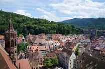 Blick vom Freiburger Münster