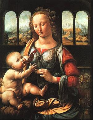 Madonna. Leonardo da Vinci