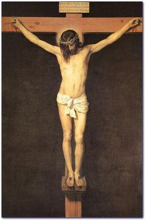 Cristo Crucificado. Velázquez. 1650. Museo del Prado
