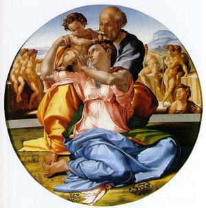 Sagrada Familia, Miguel Angel. 1504