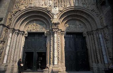 Puerta de las Platerías. Santiago de Compostela.