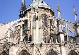 Arbotantes en Notre Dame