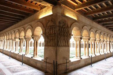 Claustro del Monasterio de Silos.Burgos
