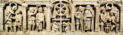 Sarcófago cristiano. S.VI