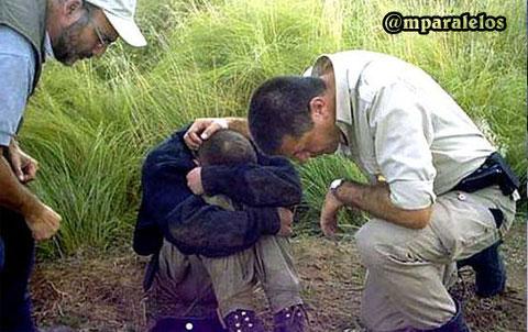 Se trata del agente pampeano Luis Sergio Puchetta. Dijo que fue perseguido por dos extraterrestres. Lo encontraron a 20 kilómetros del lugar de donde había desparecido.
