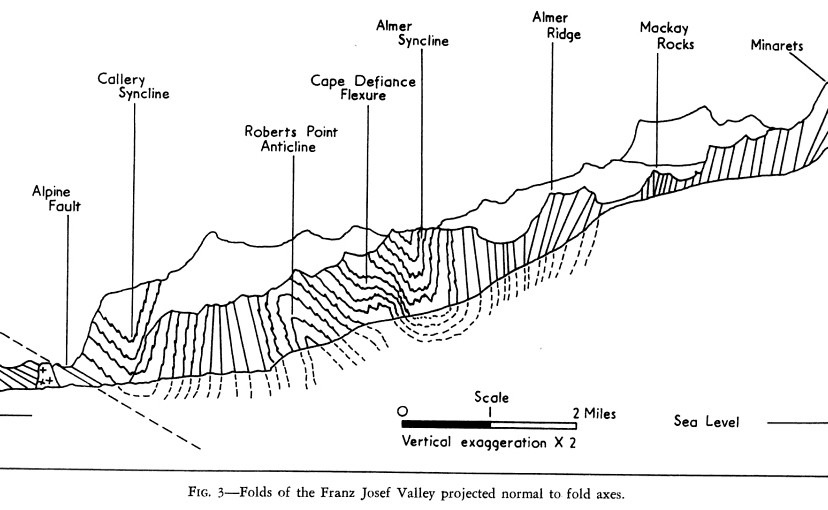 The Geomorphology of the Fox Glacier
