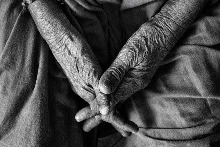 The Beauty of old age Kurtz Detektei Hannover, Copyright Vinoth Chandar