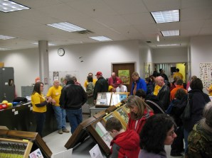 View of the Triplehorn collection during 2008 Museum Open House.