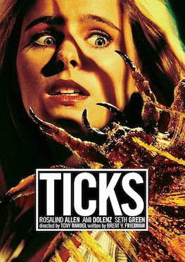 This is a poster for Ticks (film).