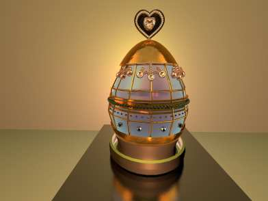 Faberge Egg by Madison Lyons