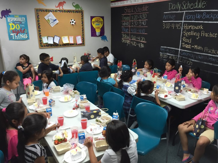 Ohio Hispanic Coalition's After School Program provides children on the East and West (and soon North side) with free meals after school (photo courtesy Josué Vicente).