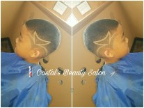 Styles from Cristal's Beauty Salon/Azul Violeta Salon (photo provided by Galloso)