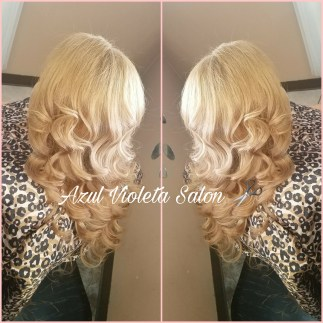 Styles from Cristal's Beauty Salon/Azul Violeta Salon (photo provided by Galloso)