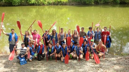 ENR 2nd year canoe trip