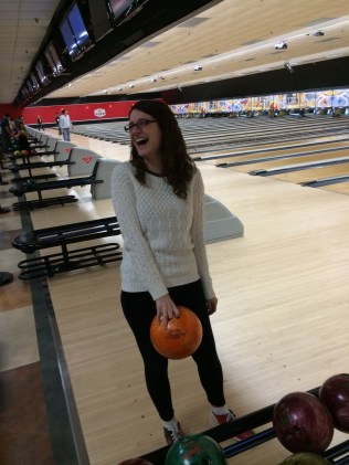 The enthusiasm before the first bowl....