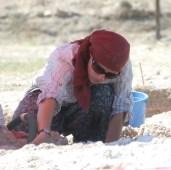Katryn in a excavation in Turkey