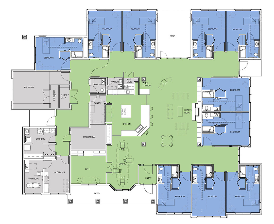 The Greenhouse Project Floor Plans