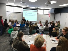 The most popular session by far was the Conflict Resolution and Dealing with Difficult People session taught by Jackie Kirby-Wilkins.