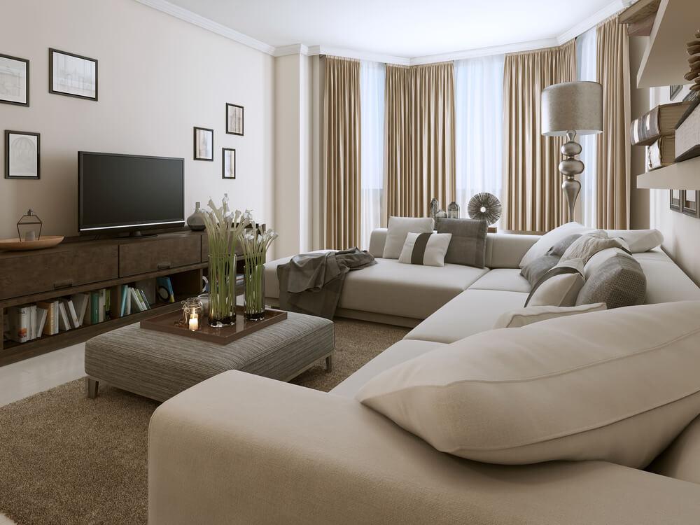 living room design tips led strip lighting ideas 5 for every get a bigger better area rug