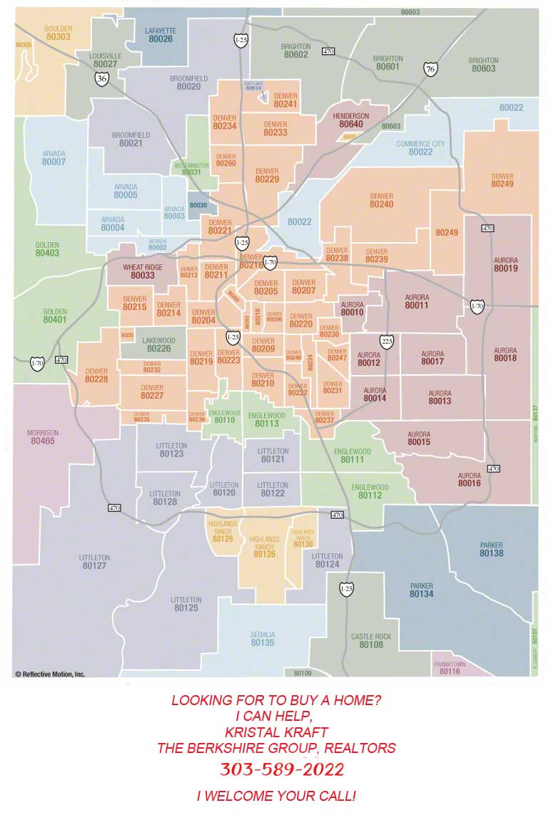 Denver (CO), United States Zip Codes