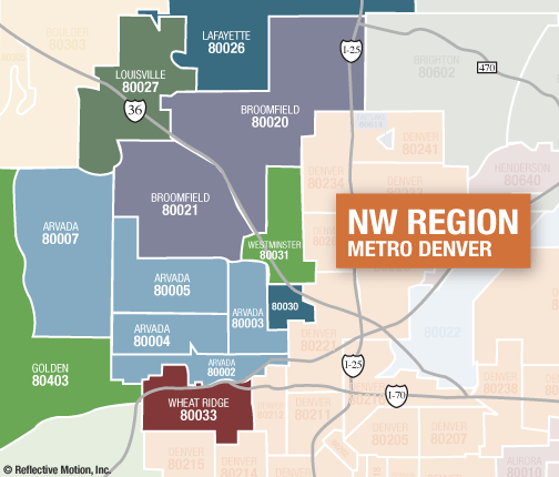 Broomfield Colorado Zip Code Map.Golden Colorado Zip Code Map