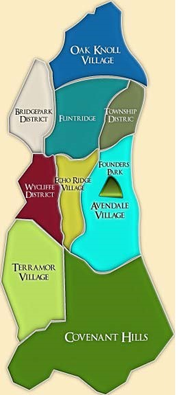 Map Ladera Ranch Communities