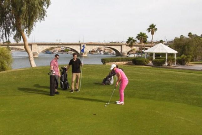 Bridgewater Links Golf course in Lake Havasu