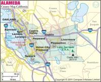 Alameda County Map