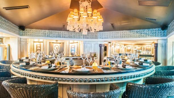 table haute bar cuisine