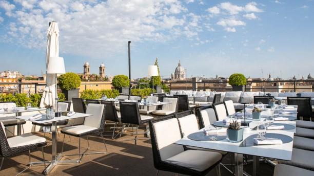 Acquaroof Terrazza Molinari a Roma  Menu prezzi immagini recensioni e indirizzo del ristorante