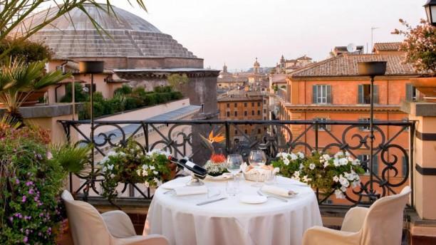 Minerva Roof Garden a Roma  Menu prezzi immagini recensioni e indirizzo del ristorante