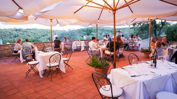 La Terrazza del Borgo in Radda In Chianti  Restaurant