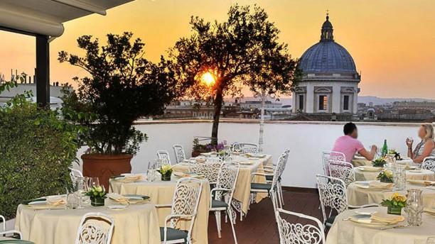 La Terrazza dei Papi a Roma  Menu prezzi immagini recensioni e indirizzo del ristorante