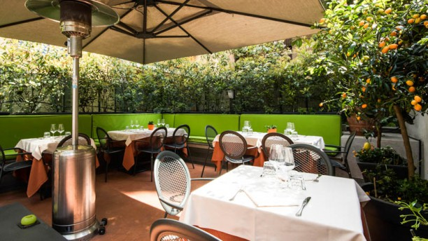 Da Romolo alla mole Adriana in Rome  Restaurant Reviews Menu and Prices  TheFork