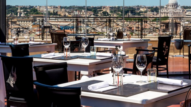 The Flair  Rooftop Restaurant in Rome  Restaurant Reviews Menu and Prices  TheFork