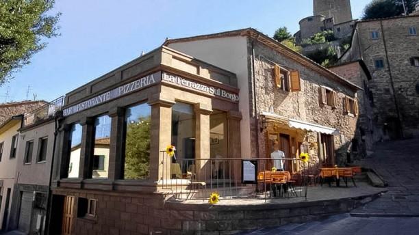 La Terrazza Sul Borgo i Montecatini Val Di Cecina  Restaurangens meny ppettider recensioner