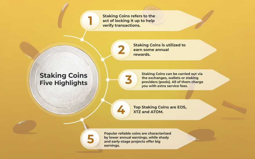 Coins Staking Highlights
