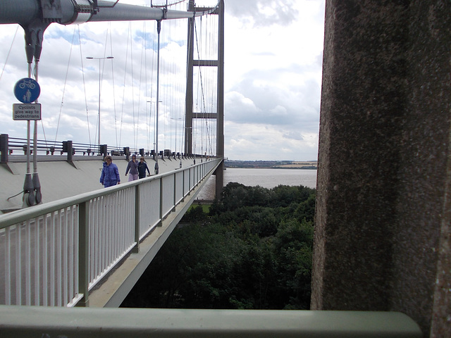 Humber Bridge, West Walkway