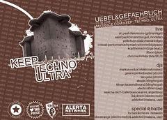 Keep Techno Ultrà - Flyer